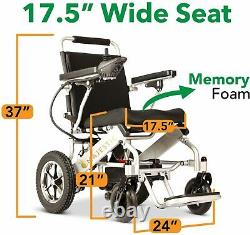 2020 Culver Foldable Electric/Power Wheelchair (M-601)