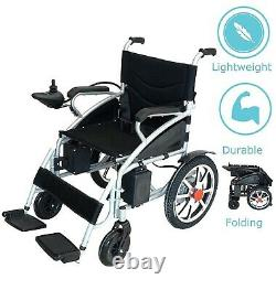 2020 UPDATED Electric Wheelchair Foldable Electric Power Wheelchairs