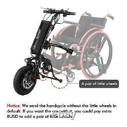 36V/500W 11.6ah Attachable Electric Wheelchair Handcycle Scooter for With Battery