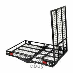 500 lbs Strong Wheelchair Hitch Carrier Mobility Electric Scooter Loading Ramp