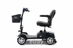Adult Mobility Scooter Device Electric Power 4-Wheel Compact Scooter Wheel Chair