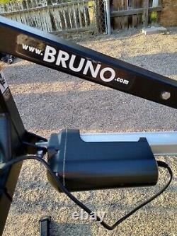 Bruno PUL-1100 Electric Wheelchair Scooter Mobility Crane Lift 350 lb Capacity