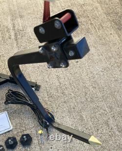 Bruno Power VSL-6000 250lb Power Chair Lift Boom Black Wheelchair Powerchair