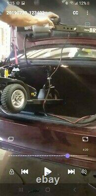 Bruno Space-Saver Scooter/Wheelchair Lift Barely Used