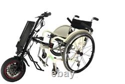 CNEBIKES 36V/350W 8.8ah Attachable Electric Handcycle Scooter for Wheelchair N6