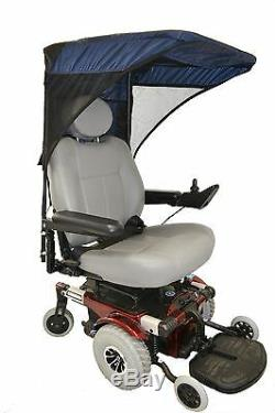 Diestco Electric Wheelchair or Scooter Sun Protection with Ventilation Canopies