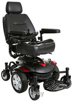Drive Medical Titan AXS Mid-Wheel Power Wheelchair Assembled but NEVER USED