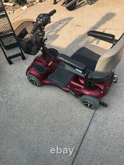 Electric Wheelchair Scooter and Ramp