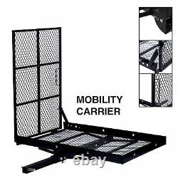 Foldable Electric Wheelchair Carrier Mobility Scooter Disability Medical Ramp
