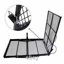 Foldable Electric Wheelchair Carrier Scooter Disability Medical Hitch Rack Ramp