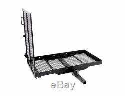 Foldable Electric-Wheelchair Hitch Carrier Mobility Scooter Folding Loading Ramp