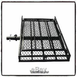 Folding Strong Electric Wheelchair Hitch Carrier Mobility Scooter Loading Ramp