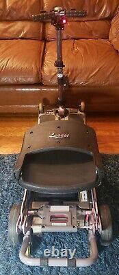 FreeRider Luggie Folding Wheelchair Electric Folding Wheelchair