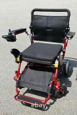 Geo Cruiser Elite EX lightweight foldable electric wheelchair