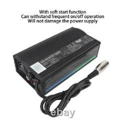 HP8204B 24V 5A Mobility Scooter Charger Electric wheelchair Battery Adapter BT