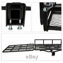 Heavy-duty Carrier for Electric Wheelchair Cargo Mobility Scooter with Hitch &