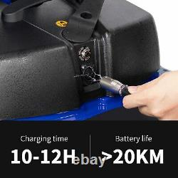 Innuovo 3-Wheeled Electric Mobility Scooter Lightweight Compact Wheelchair Blue
