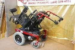 Invacare Ranger X Electric Power Wheelchair Scooter with Tilt