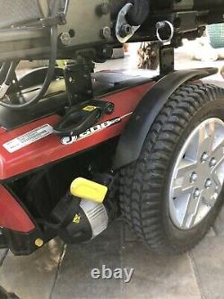 JAZZY 600 ES Power Wheelchair by Pride Mobility With Charger