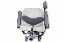 Jazzy Select Electric Wheelchair 19x19 Seat With Recline Stealth Headrest