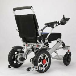 Light-Weight Folding Electric Wheelchair-For Travel & Everyday 2 x 250V MOTOR