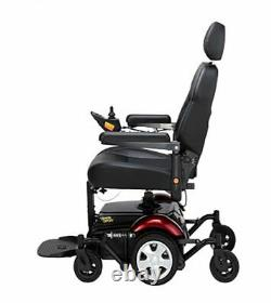 Merits Vision Sport Electric Mobility Power Wheelchair, 300lbs. Weight Capacity