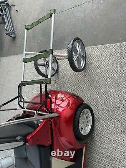 Mobility SCOOTER TRAILER Only Scooters, folding, lightweight, wheelchair Puller