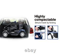 Mobility Scooter Folding Device Electric Power 4Wheel Compact Scooter WheelChair