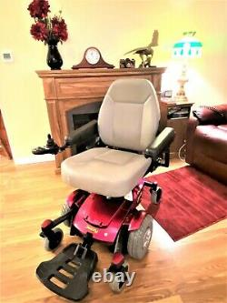 Motorized Wheelchair Jazzy Select 6 mint low hours looks -runs great 20 seat