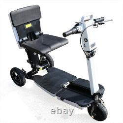 NEW 3-Wheel Folding Mobility Scooter Electric Motorized Mobile Wheelchair Device