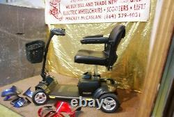 NEW Pride GoGo Elite Traveler Plus Wheelchair Scooter- 300lb Capacity