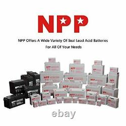 NPP 12V 35Ah 12V Deep Cycle Rechageable Battery for Electric Wheelchair Scooter