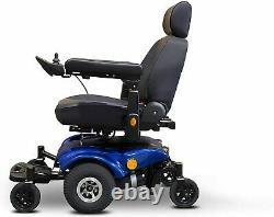 New EWheels EW-M48 Medical Travel Mobility Power Electric Wheelchair Blue