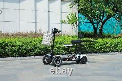 New Model Foldable Perfect Travel Transformer 4 wheel Electric Mobility Scooter