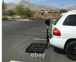 New Power Wheelchair Scooter Lift Mobility Electric Carrier T40-250 Local Pickup