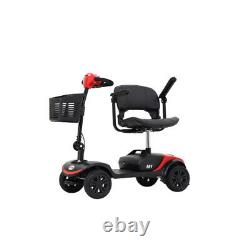 Outdoor Folding Electric Wheelchair 4-wheel Power Scooter Suitable for Travel