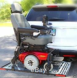 Patriotic Electric Power Wheelchair Scooter Vehicle Auto Lift Carrier US208 New