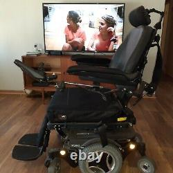 Permobil M300 Power Wheelchair Scooter Tilt, Power Seat & Leg Rests