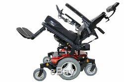 Permobil M300HD Bariatric Power Wheelchair Tilt, Recline & Legs 24x21 Seat