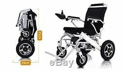 Portable Electric Wheelchair Folding Heavy Duty Lightweight Mobility Power Chair