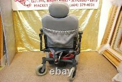 Pride Jazzy Jet 3 Ultra Electric Power Wheelchair Scooter