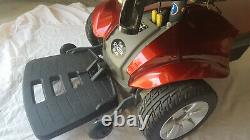 Pride Mobility Electric Power Wheelchair Red Scooter Store Pre-Owned