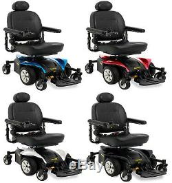 Pride Mobility Jazzy Select 6 2.0 Elevating Seat Electric Power Chair Wheelchair