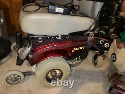 Pride Mobility Jazzy Select Gt Electric Power Wheelchair Red