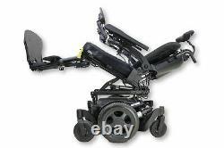 Quickie Pulse 6 Power Wheelchair Tilt, Recline, Legs ROHO, Attendant Control