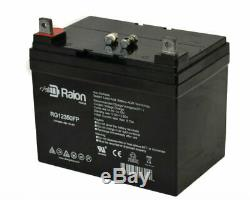 Raion 12V 35Ah Electric Mobility Rascal 600T Indoor/Outdoor Scooter Battery 2PK