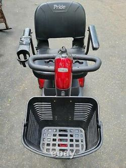 Scooter Go-Go Pride Mobility Elite Traveller electric wheelchair + 3 chargers