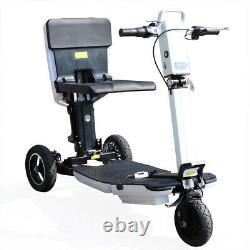 Used 3Wheel Electric Mobility Scooter 3Speed Motorized Mobile Wheelchair Folding