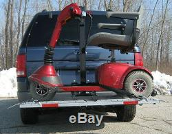 Veterans Power Chair Electric Scooter Lift Carrier US208