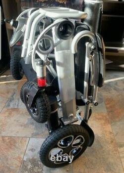 Vive Folding Power Wheelchair Large With Lithium Ion Battery